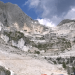 Marble Quarry in Carrera
